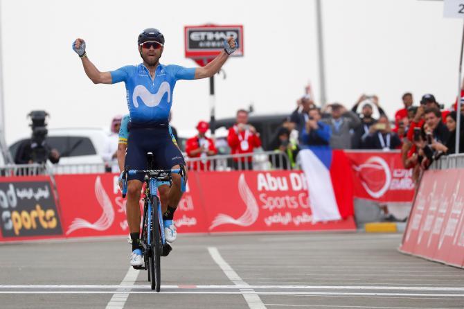 Unaltra perla di Valverde: suo il Jebel Hafeet e sua la classifica finale dellAbu Dhabi Tour (foto Bettini)
