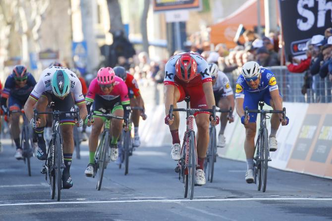 Kittel vince lultimo sprint della Tirreno-Adriatico 2018 (foto Bettini)
