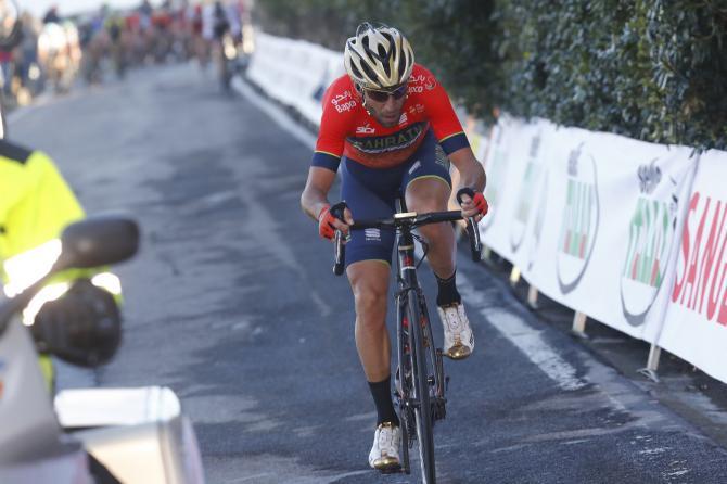 Nibali allattacco sul Poggio, dove osano le grandi aquile della Sanremo (foto Bettini)
