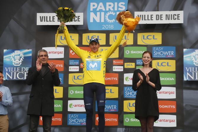 Soler spodesta Simon Yates e vince ledizione 2018 della Parigi-Nizza proprio allultima tappa (foto Bettini)