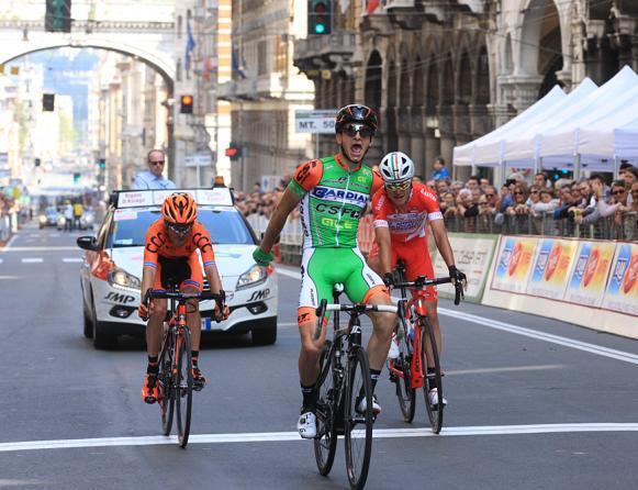 Ciccione perfeziona la giornata doro dei Bardiani imponendosi nel Giro dellAppennino (foto Bettini)