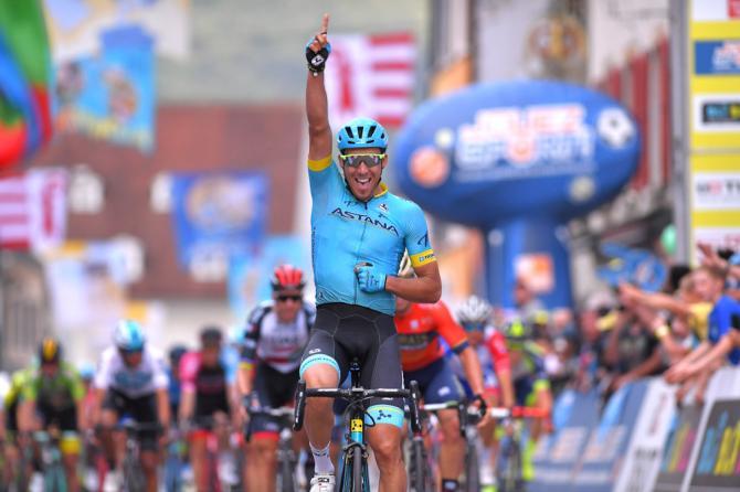 Lo spagnolo Fraile vince la prima frazione in linea del Tour de Romandie 2018 (foto Tim de Waele/TDWSport.com)