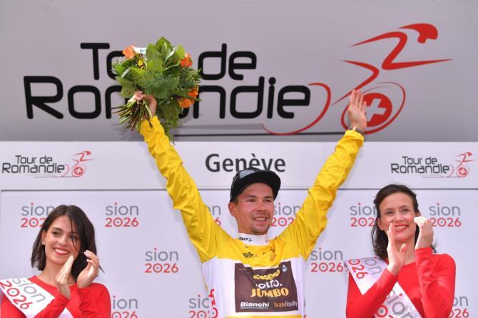 Primož Roglič vince meritatamente la 72a edizione del Tour de Romandie (foto Tim de Waele/TDWSport.com)