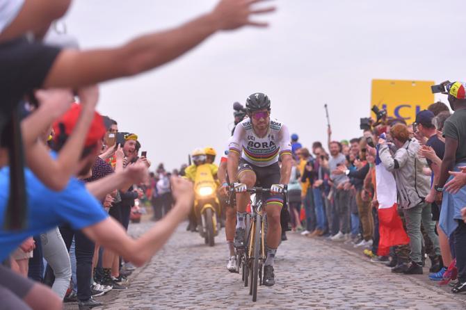 Sagan confeziona unimpresa da leggenda sulle pietre della Parigi-Roubaix (foto Tim de Waele/TDWSport.com)