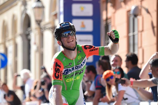 LItalia chiude in bellezza il Giro di Croazia con il successo di Paolo Simion a Zagabria (foto Bettini)