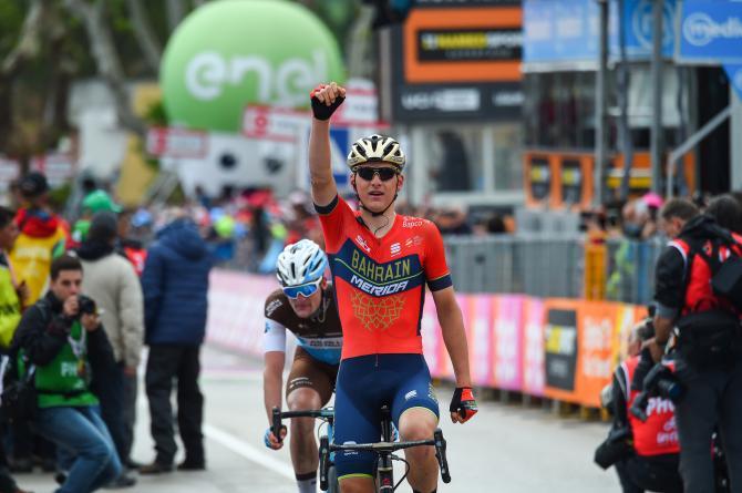 Il caso Chaves ha fatto passare in secondo piano la bella vittoria dello sloveno Matej Mohorič nella 10a frazione del 101° Giro dItalia (foto Bettini)