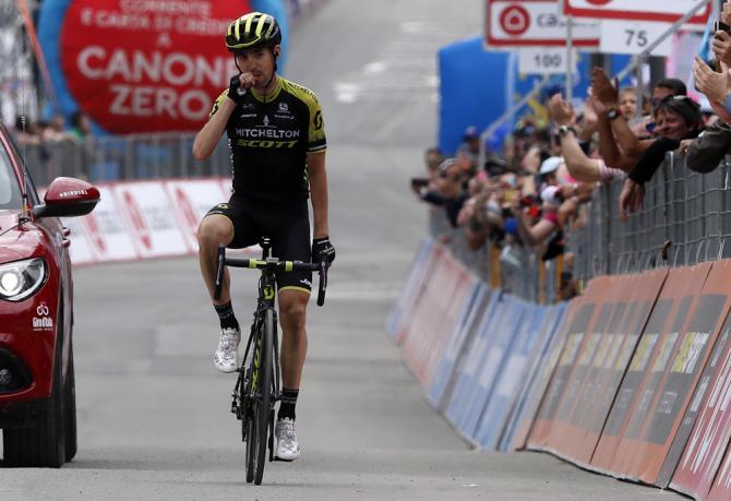 Lo spagnolo Nieve vince lultimo tappone del Giro 2018 (foto Bettini)