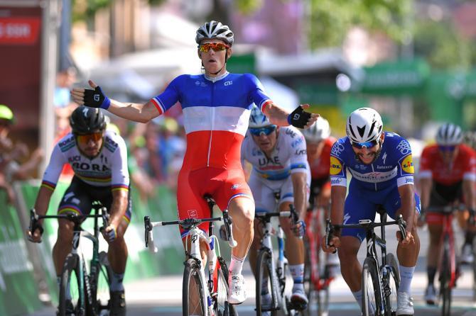 Lultima tappa in linea del Tour de Suisse 2018 porta la firma del francese Arnaud Démare (Getty Images)