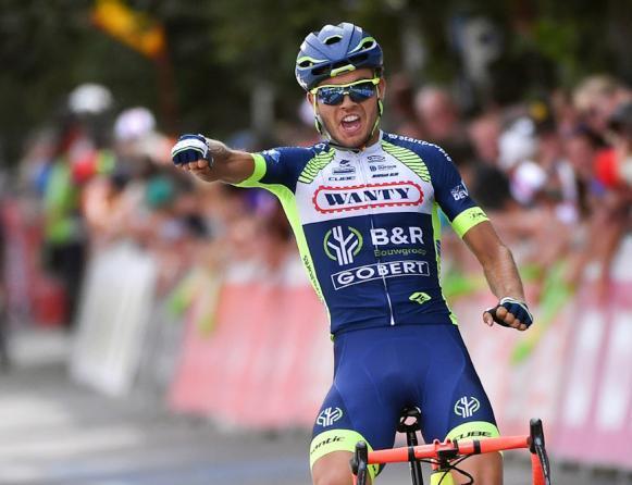 Eiking ha più fortuna di Aru e si impone nella terza tappa del Tour de Wallonie (foto Tim de Waele/TDWSport.com)