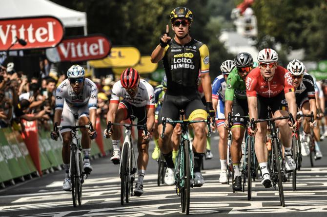 Groenewegen vince anche ad Amiens e sigla una prestigiosa doppietta consecutiva (Getty Images)
