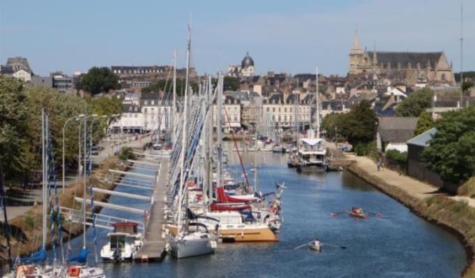 Il porto di Saint-Jacques, località situata nel territorio municipale di Sarzeau (www.domainedekersial.com)