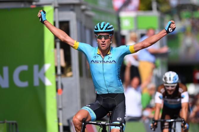 Velocisti beffati anche stavolta e a segno in quel di Lanaken va il danese dellAstana Magnus Cort Nielsen (foto Justin Setterfield/Getty Images Sport)