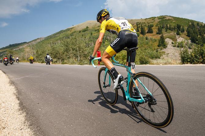 Kuss allattacco sulle salite del Tour of Utah (foto onathan Devich/epicimages.us)