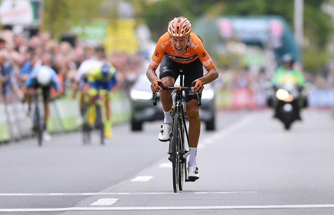 Lattacco nel chilometro conclusivo di Taco Van Der Hoorn (Getty Images)