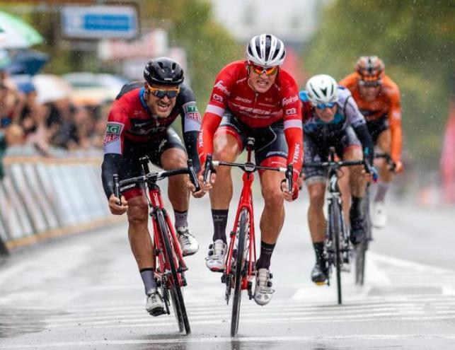 Il danese Pedersen fa suo il Tour de lEurométropole, corsa belga iscritta nel calendario H.C. (foto Bettini)