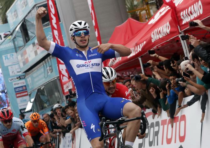 Hodeg si impone nella penultima frazione del Giro di Turchia (foto Bettini)