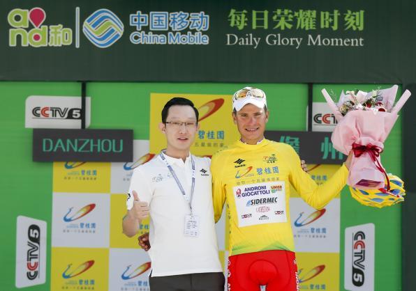 LAndroni chiude in bellezza la stagione 2018 con il successo di Fausto Masnada al Tour of Hainan (www.tourofhainan.com)