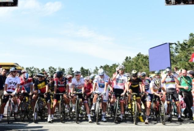 Inizia la stagione 2019 del ciclismo grandi firme (foto ASO)