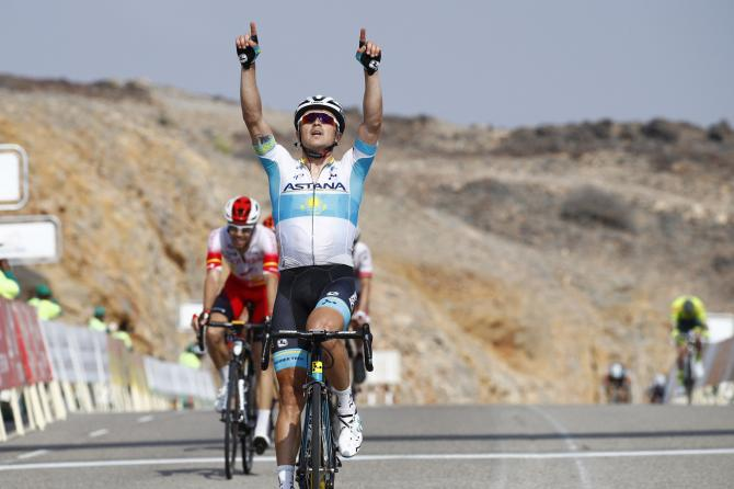 Lutsenko semore in pole al Tour of Oman (foto Bettini)