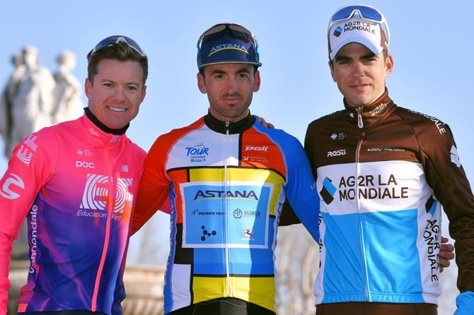 Il podio della quarta edizione del Giro della Provenza (Getty Images)