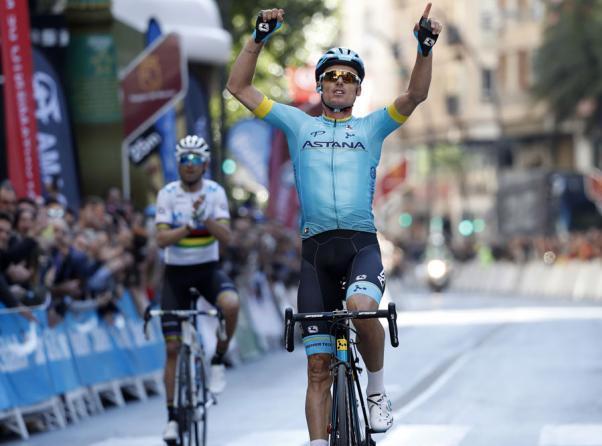 In quel di Murcia Luis León Sánchez perfeziona il dominio Astana nella corsa di casa (foto Bettini)