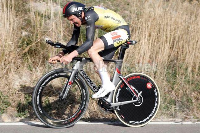 Wellens vola anche a crono e vince la terza tappa della Vuelta a Andalucía (foto Bettini)
