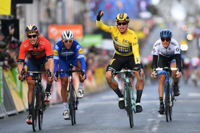 Unaltra tappa condizionata dal vento e ancora una vittoria per Groenewegen (Getty Images)