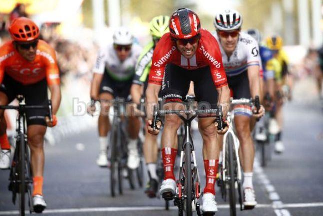 Stavolta Matthews non fallisce lobiettivo e centra il suo secondo successo alla Volta a Catalunya 2019 (foto Bettini)