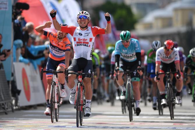 Laustraliano Caleb Ewan si impone nella quarta frazione del Giro di Turchia (Getty Images)