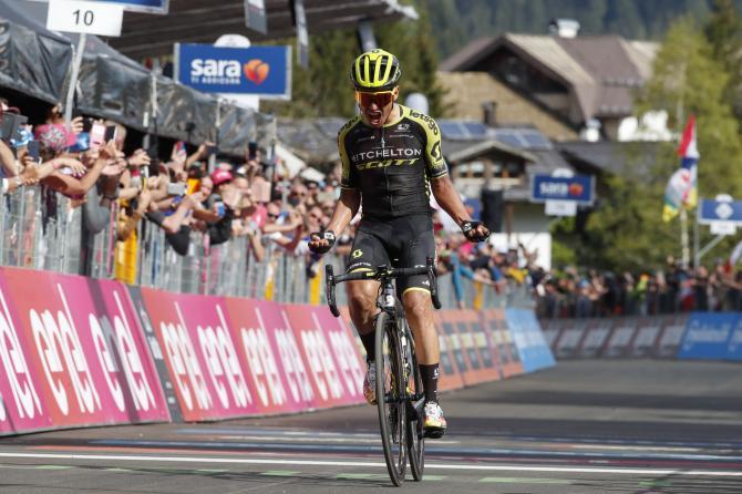 Chavez si impone in solitaria nella penultima tappa di montagna del Giro 2019 (foto Bettini)