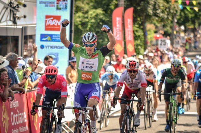 Il francese Démare chiude con la vittoria alla sprint la Route de lOccitanie (www.laroutedoccitanie.fr)