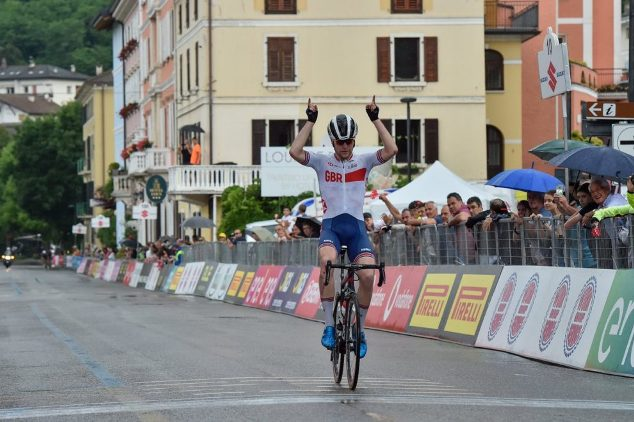 Unaltra affermazione di prestigio per la nazionale britannica sulle strade del Giro dItalia Under23 (foto IsolaPress)