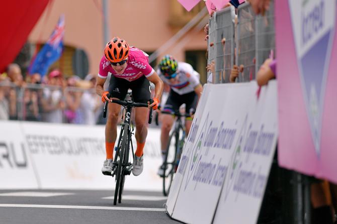 Marianne Vos ad un passo dalla terza affermazione al Giro Rosa 2019 (Getty Images)
