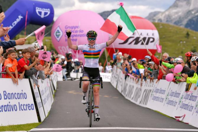 Anna van der Breggen conquista lultima vetta del Giro Rosa 2019 (Getty Images)