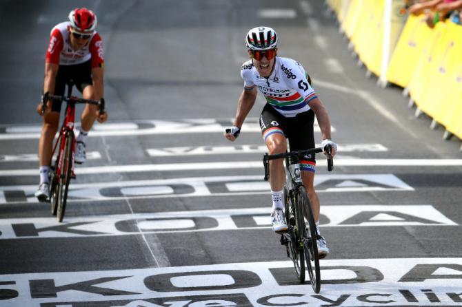 Il sudafricano Daryl Impey vince la tappa numero 9 del Tour de France (Getty Images Sport)