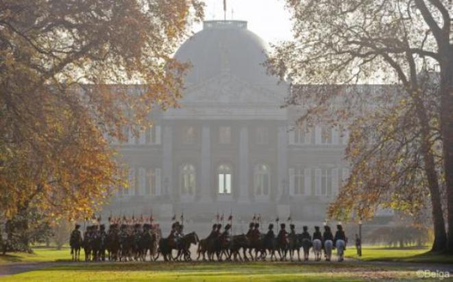 Il castello reale di Laeken, presso il quale si è conclusa la prima tappa del Tour (www.monarchie.be)
