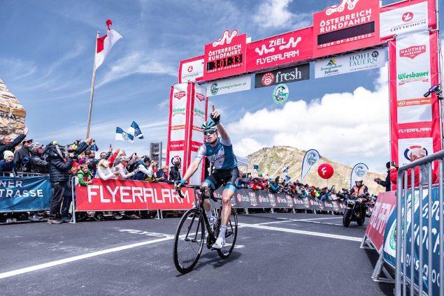 Ben Hermans vince la tappa regina del Giro dellAustria (Expa Pictures)
