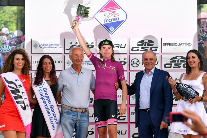 Annemiek  Van Vleuten vince la 30a edizione del Giro dItalia femminile (Getty Images)