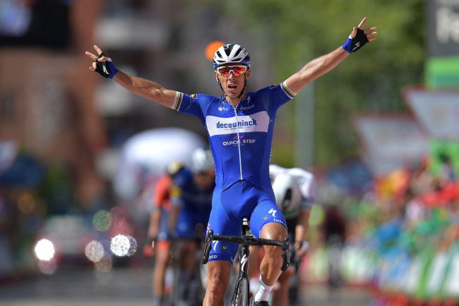 Bis di Gilbert sulle strade della Vuelta 2019 al termine della ventosa frazione di Guadalajara (Getty Images)