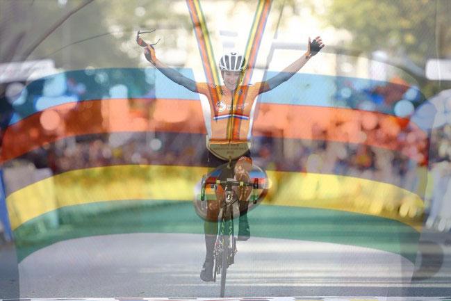 Annemiek van Vleuten vince il mondiale 2019 (foto Bettini)