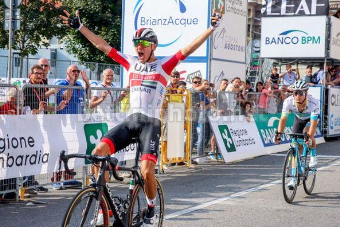 Riabushenko vince la Coppa Agostoni (foto Bettini)