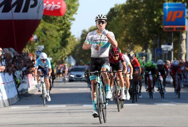Due giorni dopo la vittoria alla Coppa Sabatini Alexey Lutsenko vince anche il Memorial Pantani (foto Bettini)