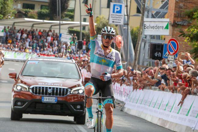 Lutsenko vince la Coppa Sabatini (foto Bettini)