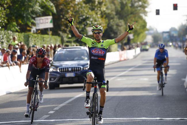 Giovannu Visconti vince il Giro di Toscana - Memorial Alfredo Martini 2019 (foto Bettini)