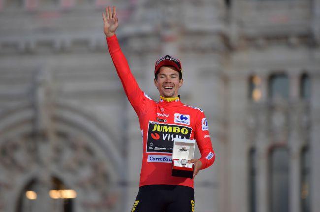 Primož Roglič vince il suo primo grande giro della carriera (Getty Images Sport)