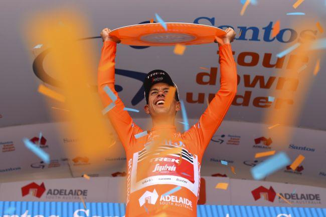 Willunga stavolta non è sua, ma la soddisfazione per Richie Porte è tanta: sua la 22a edizione del Tour Down Under (foto Bettini)