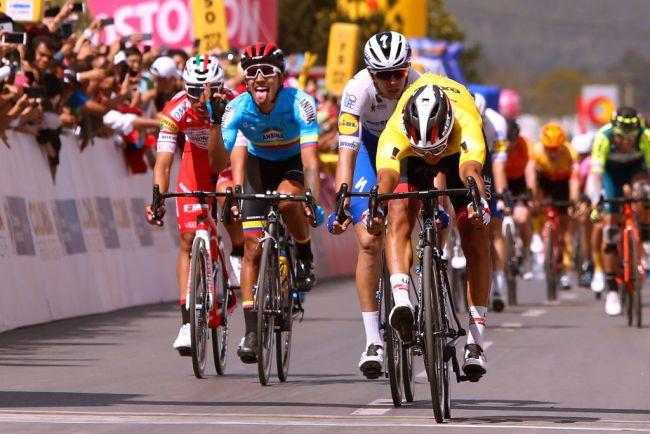 Il bis di Molano sulle strade del Tour Colombia 2.1 (Getty Images)