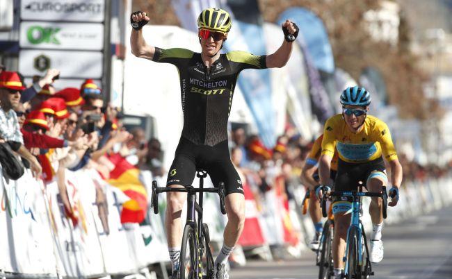 Laustraliano Haig si impone nella combattuta penultima tappa della Vuelta a Andalucía (foto Bettini)