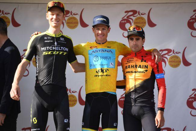 Il podio della corsa andalusa (Getty Images Sport)