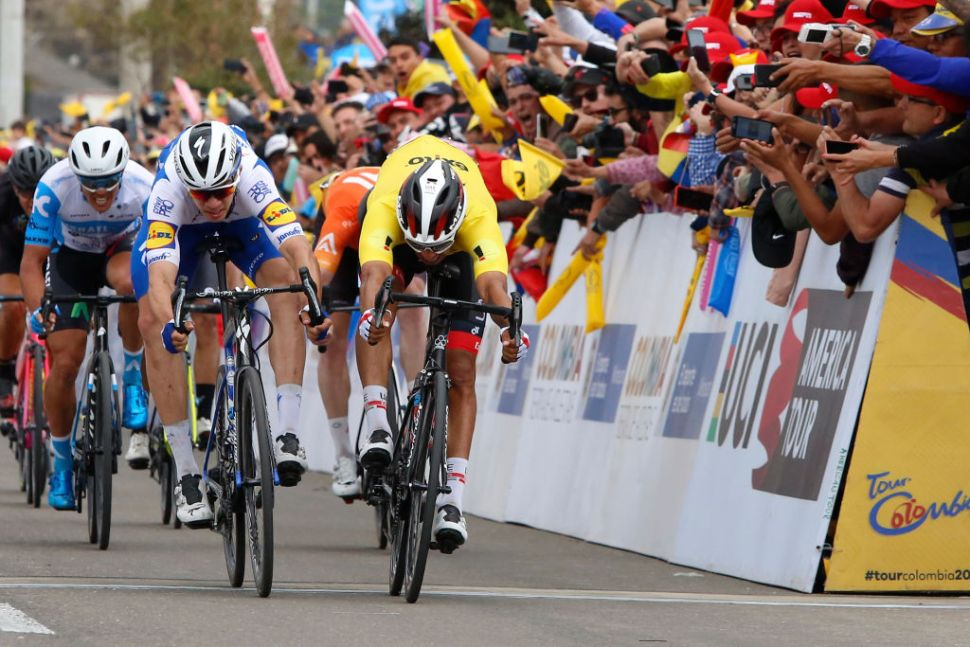 Juan Sebastián Molano è il re degli sprint al Tour Colombia 2.1 (Getty Images)